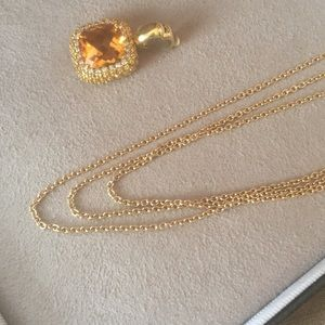 18k Yellow Gold Triple Cable Chain 16""